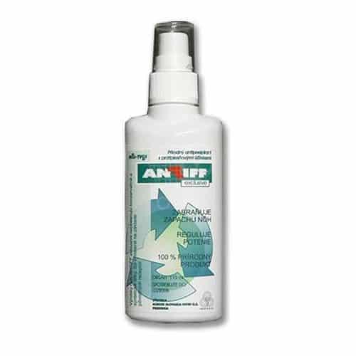 Prírodný antiperspirant