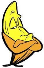 Banán a stres